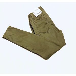 d.Jeans high waist ankle jeans- Avacado-4